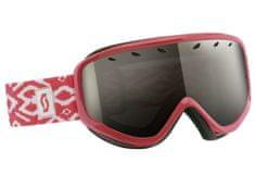 Scott Goggle Capri coral pink + black chrome
