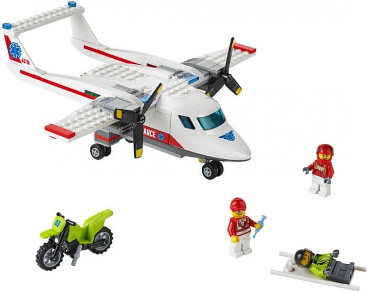 LEGO® City 60116 Záchranářské letadlo