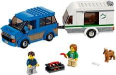 LEGO® City 60117 Van z przyczepą kempingową