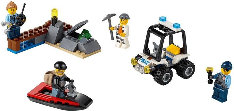 LEGO® City 60127 Vězení na ostrově - Startovací sada