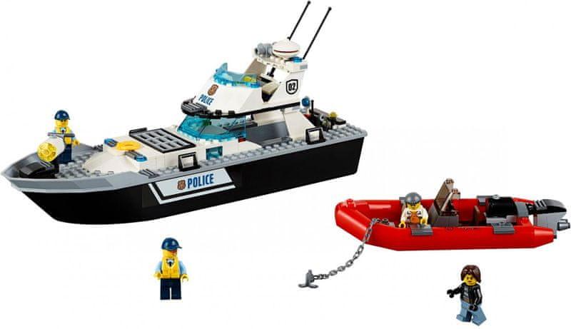 LEGO® City 60129 Policejní hlídková loď