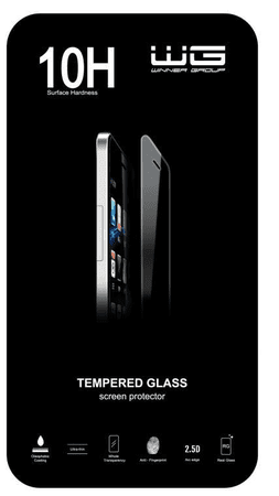 WG tvrzené sklo 0,33mm, 2,5D hrana Samsung Note 3