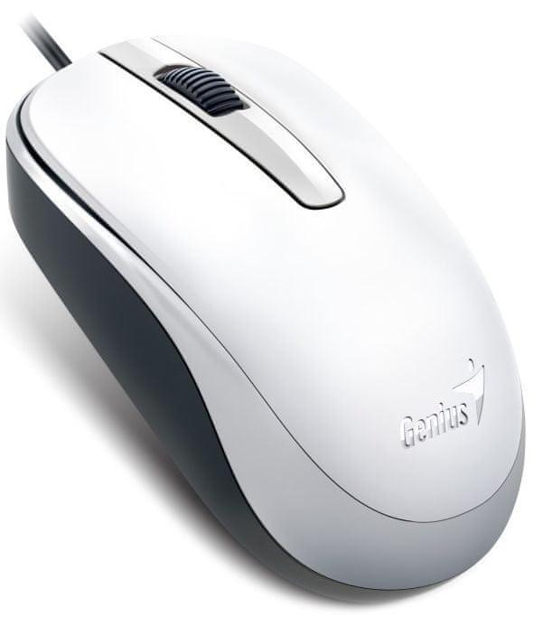 Genius DX-120/ drátová/ 1200 dpi/ USB/ bílá (31010105102)