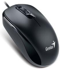 Genius DX-110 Egér, 1000 dpi, PS/2, Fekete