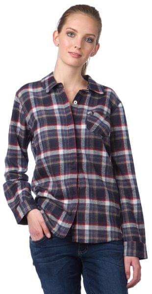Brakeburn dámská flanelová košile M tmavě modrá