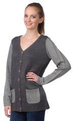 Brakeburn dámský svetr s kapsami
