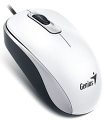 Genius DX-110, drátová, 1000 dpi, USB, bílá