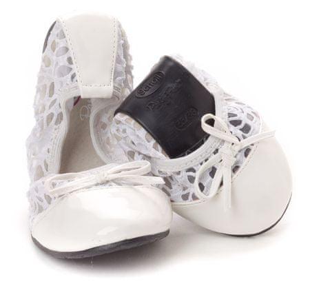 Scholl női balerina cipő 35 36 fehér  6d89087112
