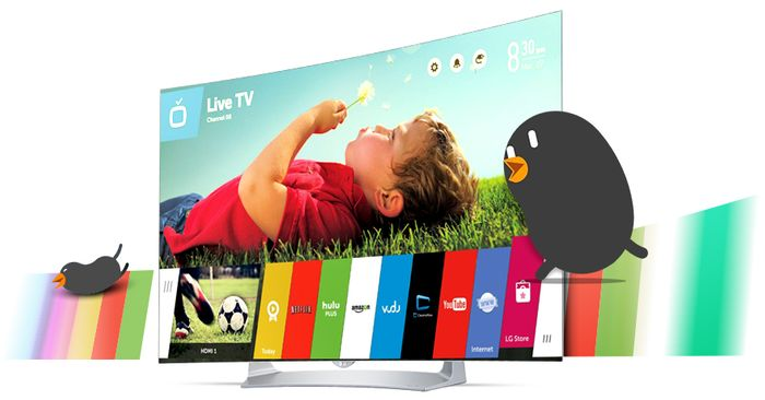 55 LG OLED TV, FULL HD, ZAKŘIVENÁ OBRAZOVKA, WEBOS 2.0