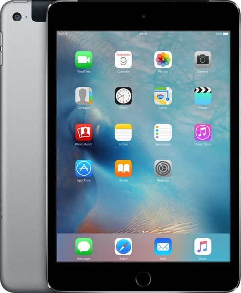 Apple iPad Mini 4 Cellular 128GB Space Gray (MK762FD/A)