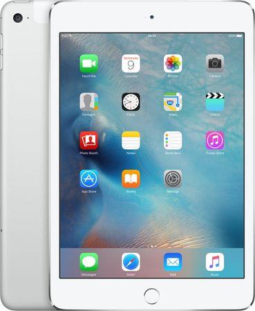 Apple tablet iPad Mini 4, 128GB, LTE (MK772FD/A) - Silver