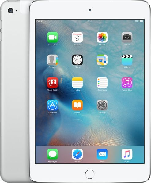 Apple iPad Mini 4 Cellular 128GB Silver (MK772FD/A)