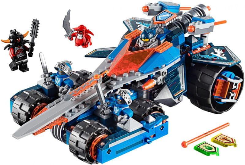 LEGO® Nexo Knights 70315 Clayova burácející čepel