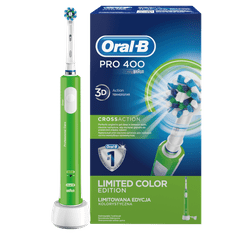 Oral-B električna četkica za zube Pro 400 Green