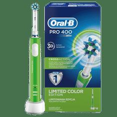 Oral-B Pro 400 Elektromos fogkefe, Zöld