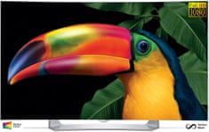 LG 55EG910V 139 cm Ívelt 3D Smart Full HD OLED TV 2 db 3D szemüveggel