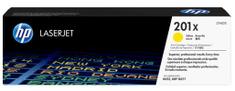 HP č.201X Žlutá originální tonerová kazeta LaserJet s vysokou výtěžností (CF402X)