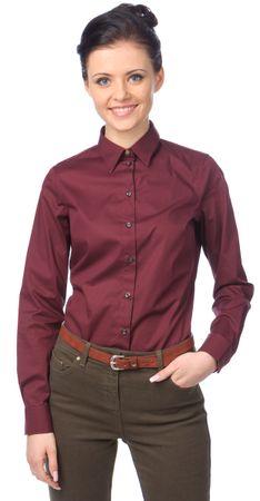 Barbour dámská košile S vínová
