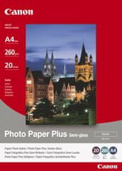 Canon foto papir SG-201, A4, 20 kosov
