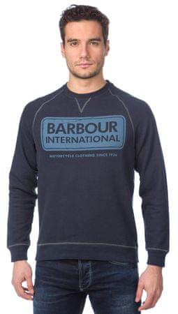Barbour pánská mikina s potiskem S modrá