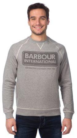 Barbour pánská mikina s potiskem M šedá