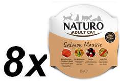 Naturo Cat Salmon Mousse 8 x 85 g