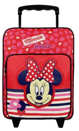Vadobag Plecak Minnie Lipstick 088-6386 na kółkach