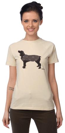 Barbour dámské tričko XXL béžová