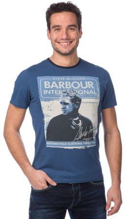 Barbour pánské tričko S modrá