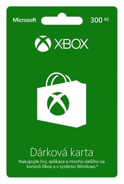 Microsoft XBOX LIVE Předplacená karta LIVE 300 Kč