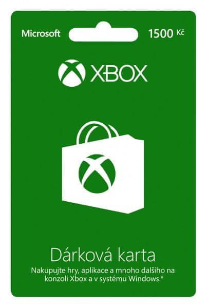 Microsoft XBOX LIVE Předplacená karta LIVE 1.500 Kč
