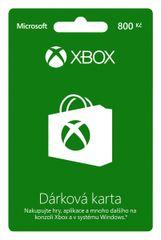 Microsoft Xbox LIVE 800 CZK kártya