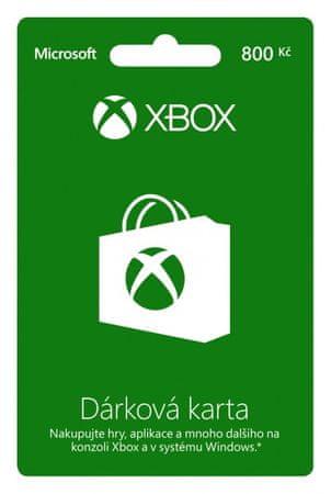 Microsoft XBOX LIVE Předplacená karta LIVE 800 Kč