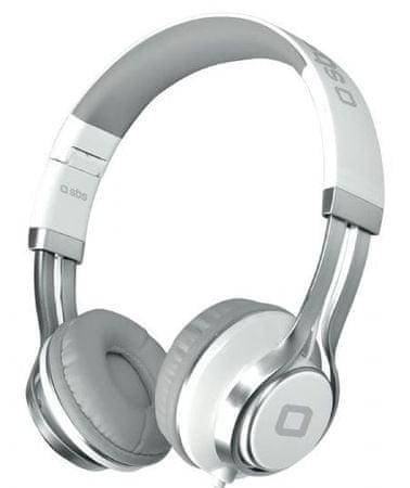 SBS naglavne slušalke DJ Pro z Mikrofon - odprta embalaža
