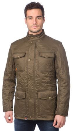 Barbour pánská bunda s kapsami S khaki