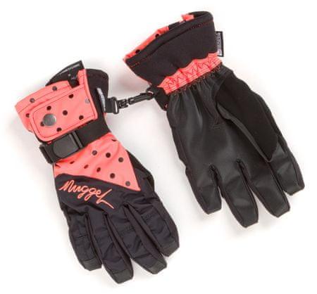 Nugget dámské rukavice Foxie M oranžová