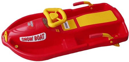 Acra sanki Snow Boat red
