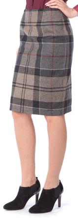 Barbour dámská vlněná sukně L vícebarevná