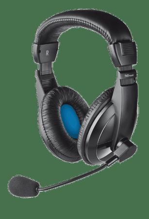 Trust Quasar Mikrofonos fejhallgató