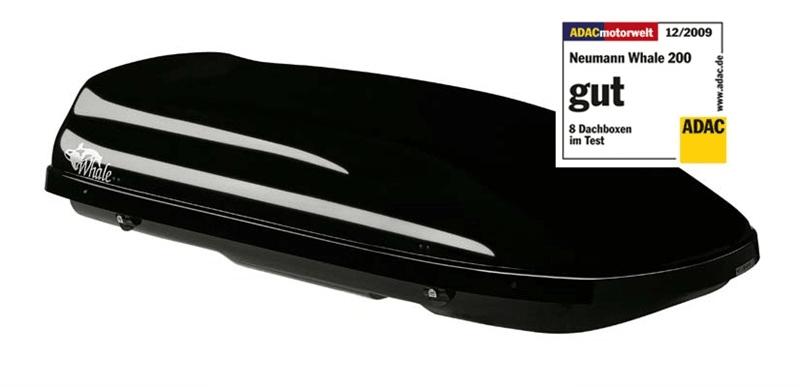 Neumann Whale 200 černá lesklá