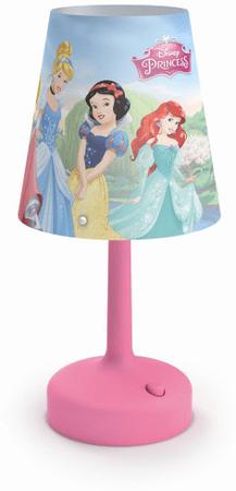 PHILIPS (71796/28/16) Disney Hercegnők Gyerek asztali lámpa