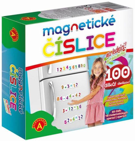 Alexander Magnetické číslice na lednici 100 dílků