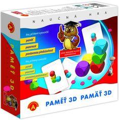 Alexander Paměť 3D společenská hra