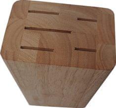 Blok dřevěný HEVEA