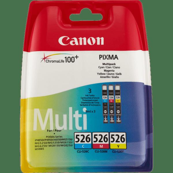 Canon CLI-526 C/M/Y Pack (4541B009), barevná
