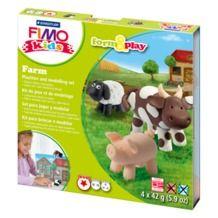 Staedtler modelirna masa Fimo kids set F&P kmetija