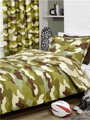 Otroška posteljnina Army camouflage
