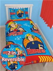 Otroška posteljnina Gasilec Samo Brave