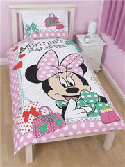 Disney Otroška posteljnina Minnie Mouse Makeover