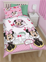 Disney Otroška posteljnina Minnie Mouse Cafe
